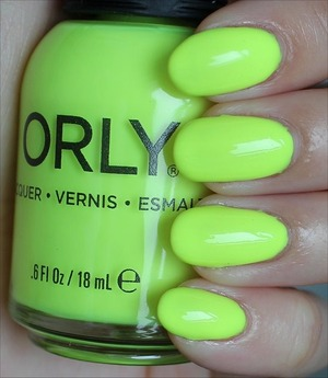 See my in-depth review & more swatches here: http://www.swatchandlearn.com/orly-glowstick-swatches-review/