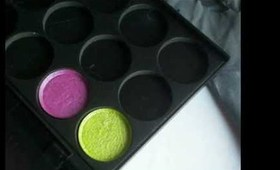 How to Press Loose Eyeshadows and Pigments