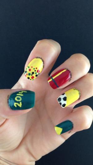 Opi Brazil Nails