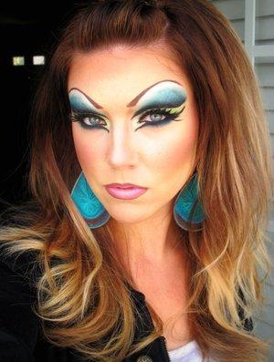Drag Queen Halloween look
