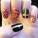 Leopard and Gold!