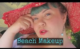 Beach-Makeup Outside GRWM Tutorial