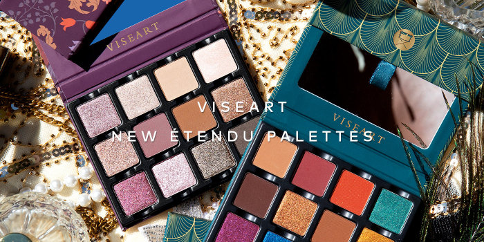 Shop Viseart's new Etendu Palettes on Beautylish.com