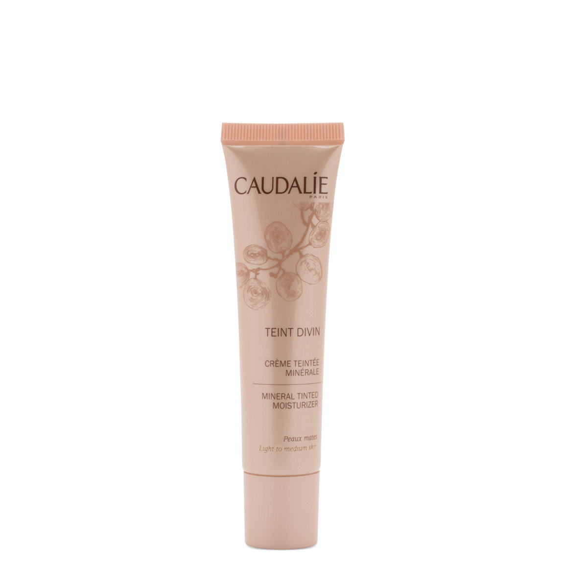 Caudalie Teint Divin Soleil Divin Mineral Tinted Moisturizer  Light alternative view 1 - product swatch.