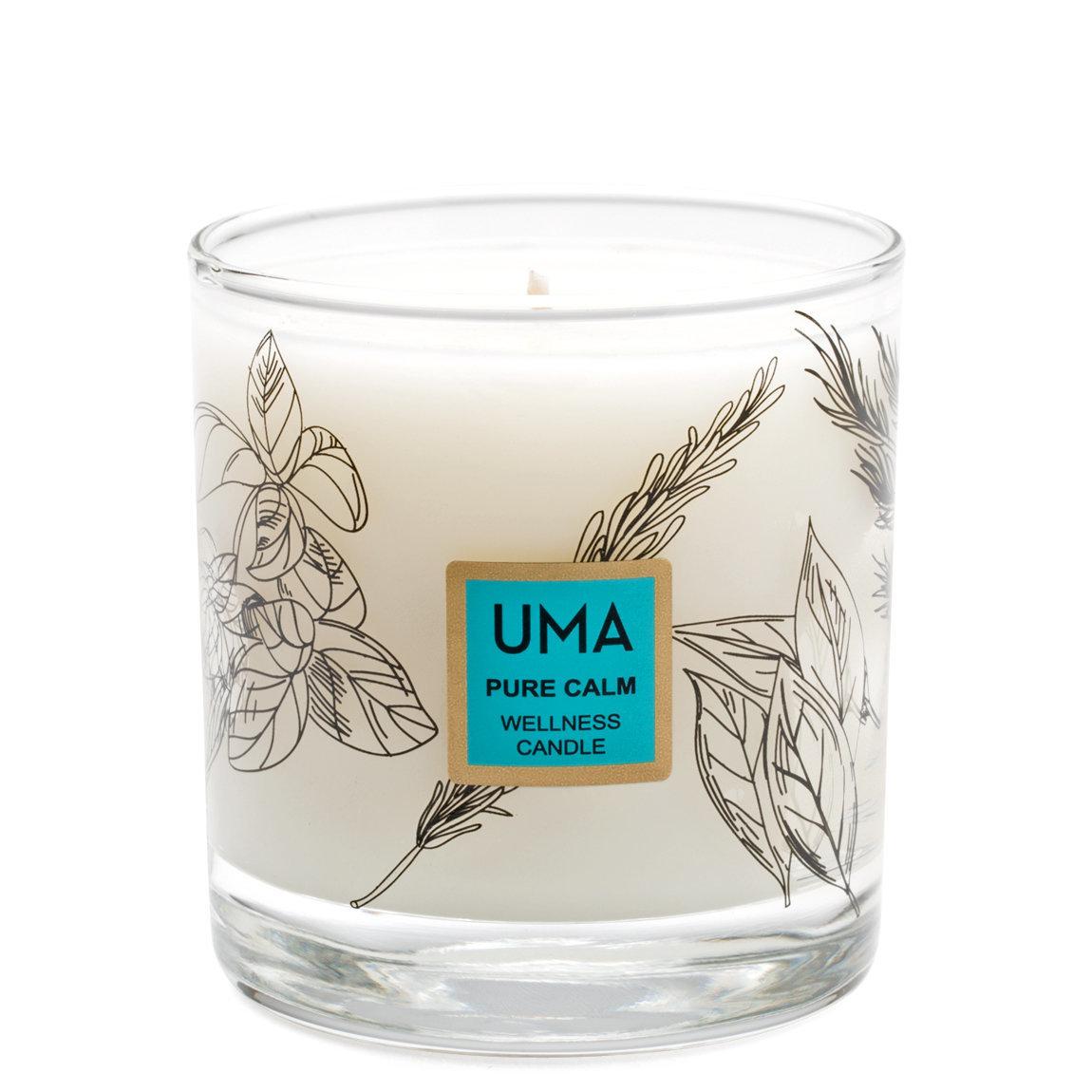 Uma Pure Calm Wellness Candle product swatch.