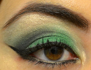 Quick eye look I came up with.  For more details check out: http://www.beautywithatwistblog.com/2013/03/happy-st-patricks-day.html