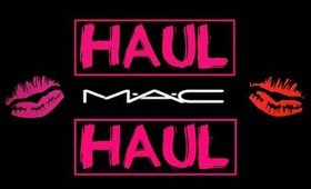 MAC Haul!! | Angela Marie