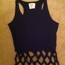 1st Attempt to Make the Fishnet T-Shirt