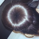 Doughnut hair bun.