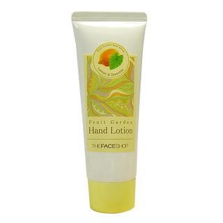 The Face Shop Fruit Garden Hand Lotion - Lemon And Green Tea