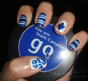 Toronto Maple Leafs Nails