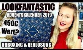 WOW krasser Wert! 💥 Lookfantastic Adventskalender 2019   UNBOXING & VERLOSUNG