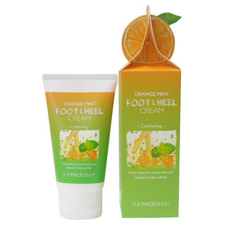 The Face Shop Orange Mint Foot and Heel Cream