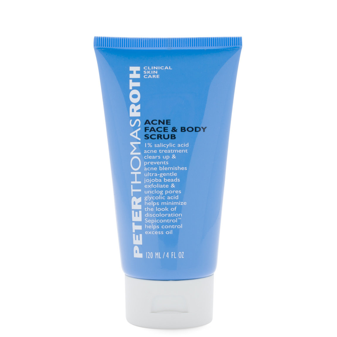 Peter Thomas Roth Acne Face & Body Scrub product swatch.