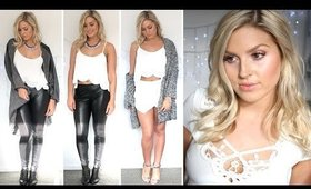 Style Lookbook ♡ Black & White Outfits! ♡ Shaaanxo