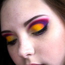 Colorful Cut-Crease