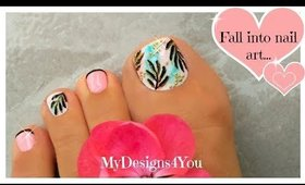 Exotic Toenail Art Tutorial | Luxurious Summer Pedicure ♥