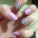 Lavender, leopard & Glitter