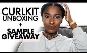 CurlKit Unboxing + Sample Giveaway!