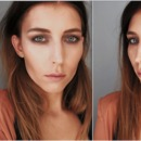 Burberry makeup look