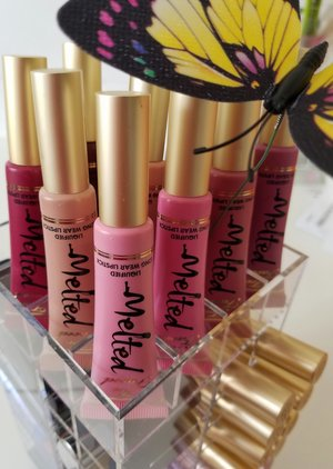 Too faced melted on top of the lipstick  carousel