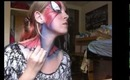 Spiderblonde - Spiderman Makeup Tutorial