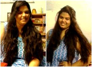 now short :( cuz of damage n hairfall :/