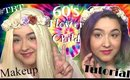 #TBT 60'2 Flower Child/ Hippie Makeup Tutorial (NoBlandMakeup)