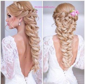 Beautiful Elsa Hairstyle