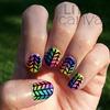 Random Crazy Nails