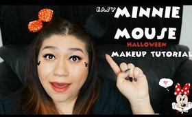 Easy Minnie Mouse Halloween Makeup