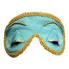 "Mary Green ""Breakfast At Tiffany's"" Silk Satin Sleep Mask"