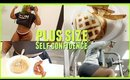 REALISTIC What I Eat in a Day + Plus Size Self Confidence