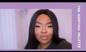 the norvina palette makeup look