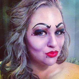 Disney's Ursula halloween makeup.