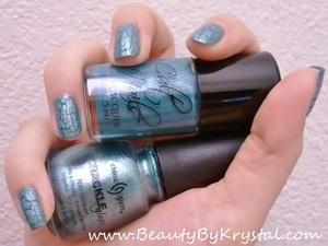Cult Nails - Let Me Fly China Glaze - Oxidized Aqua