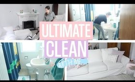 EXTREME CLEANING MOTIVATION   CLEAN WITH ME   WHOLE HOUSE DECLUTTER