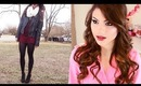 Get Ready With Me: Valentines Day! ♥ {Full Makeup, Hair & Outfit}