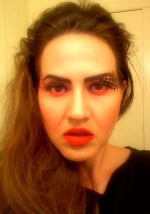 MAC cosmetics inspired runway look with my own twist