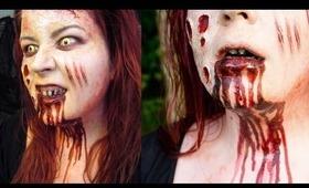 Halloween Makeup Tutorial Mia from EVIL DEAD