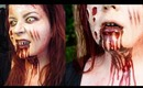 Halloween Makeup Tutorial Mia from EVIL DEAD