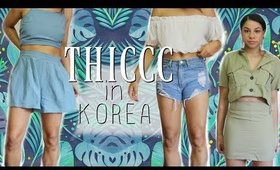 KOREAN CLOTHES! Do they fit??