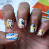 Comic Book Nail Art Decals