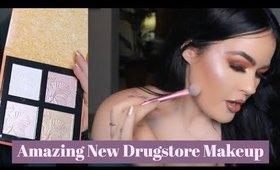 Amazing New Drugstore Makeup! Wet n Wild Palette, Drugstore Highlighter, KBeauty Makeup  & More!