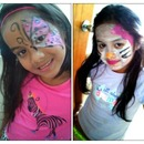 *pink & white Cheetah Butterfly/ *lil miss Hello Kitty/