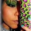 Pink & Green cheetah