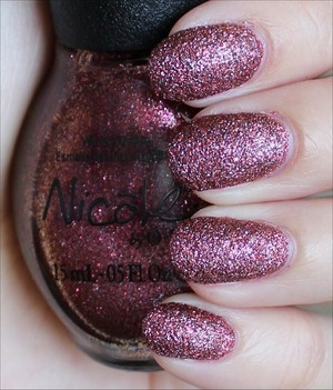 For my in-depth review & more swatches, click here: http://www.swatchandlearn.com/nicole-by-opi-cinna-man-of-my-dreams-swatches-review/