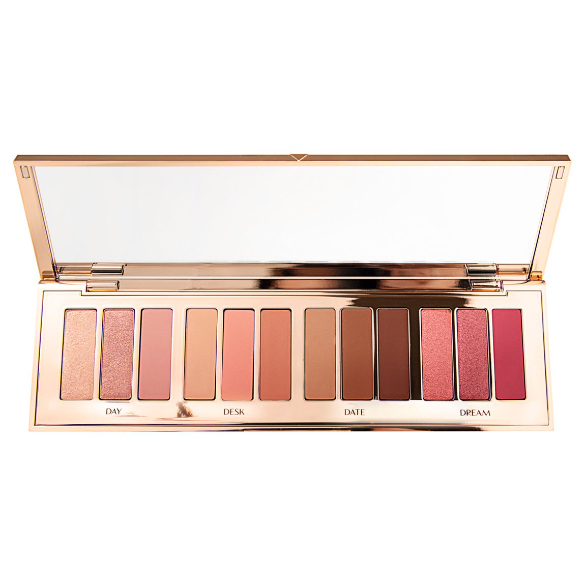Charlotte Tilbury Instant Eye Palette - Pillow Talk product swatch.