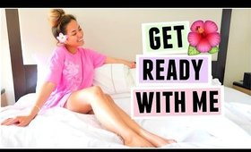 GET READY WITH ME IN HAWAII!