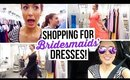 Get Ready with Me || Bridesmaids' Dress Shopping!!!